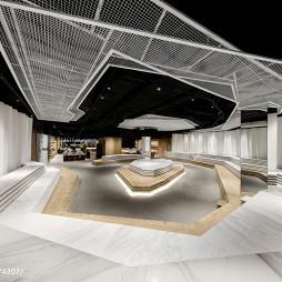 杭州来福士店图书馆整体设计图