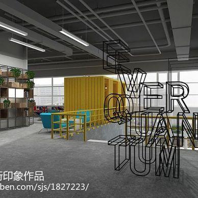 美国坦通数码办公楼空间规划装修设计_2994224