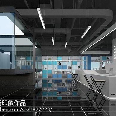 美国坦通数码办公楼空间规划装修设计_2994226