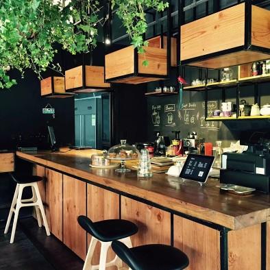 工业风咖啡店
