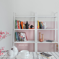 MOOK青年公寓书架设计图