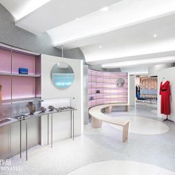 衣服卖场2F包包珠宝陈列区设计图
