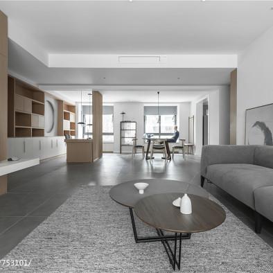 淡雅简约三居客厅设计图
