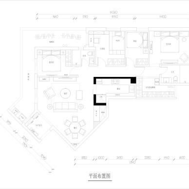 【法式风情】法式新古典住宅设计_3004524