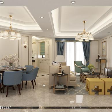 【法式风情】法式新古典住宅设计_3004526