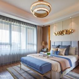 正荣悦棠湾样板房卧室设计图