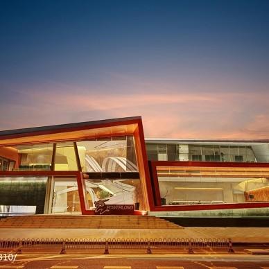 JENGA WINDOW售楼中心外观设计图