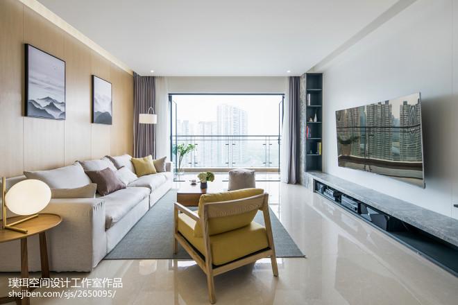 现代简约客厅设计图