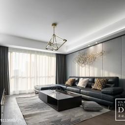 140㎡现代客厅设计图片