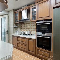 经典美式厨房设计图
