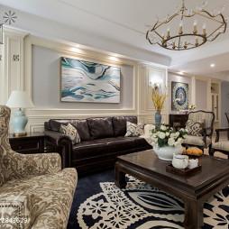经典美式客厅设计图片