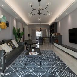 简约四居客厅设计