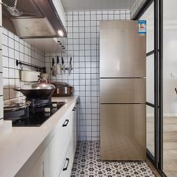 北欧风小户型厨房设计图