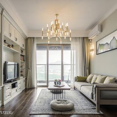 北歐二居客廳設計效果圖