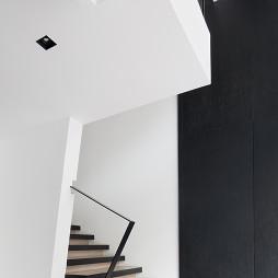 混搭风格展厅楼梯设计图
