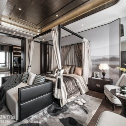 经典中式别墅卧室设计图片