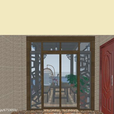 聚龙小镇-别墅阳台景观设计项目_3018782