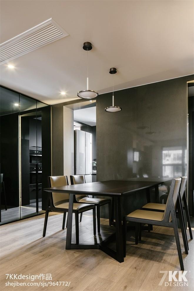 尚汇豪庭现代餐厅设计图片