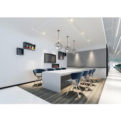 廣物中心22樓全層辦公空間設計_3022199