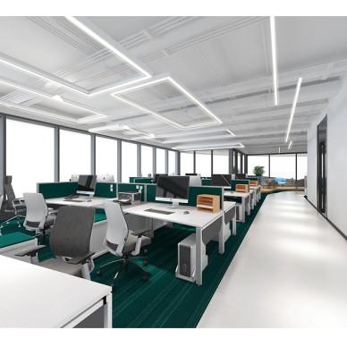廣物中心22樓全層辦公空間設計_3022200