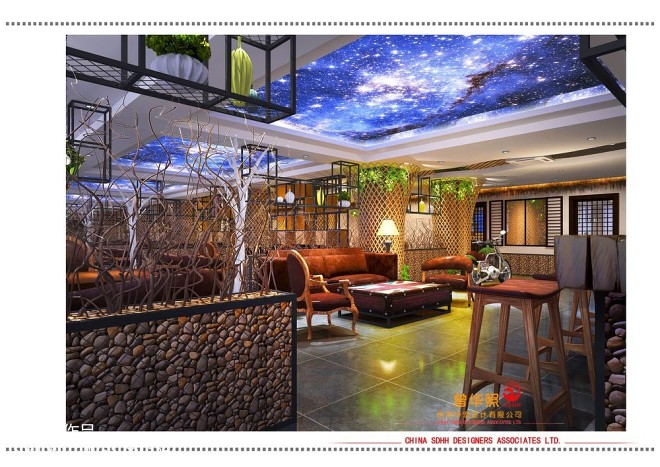 南宁咖啡厅装修设计 金凯甲_3023