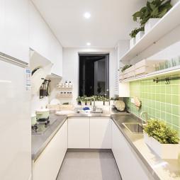浪漫北欧二居厨房设计图