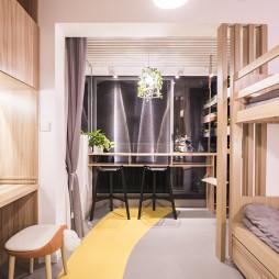 浪漫北欧二居卧室设计图