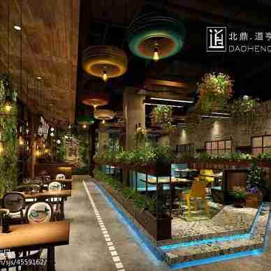 哈尔滨时尚餐厅设计_3029973