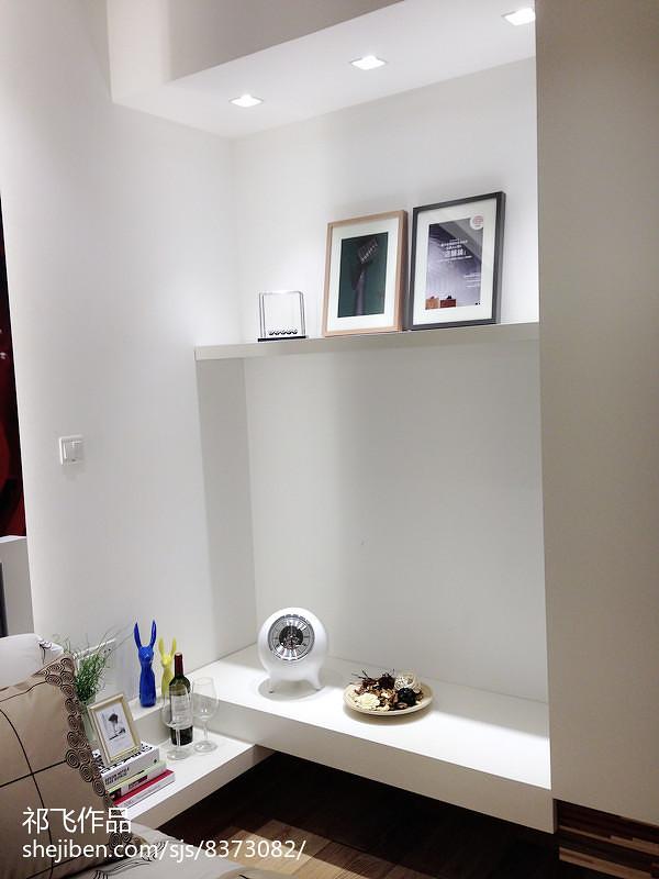 现代小户型样板房展厅_3030518