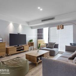 简约家装客厅沙发设计图