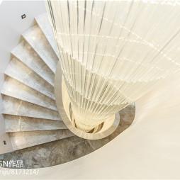 独栋别墅楼梯设计图