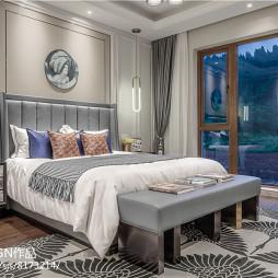 独栋别墅卧室设计图片