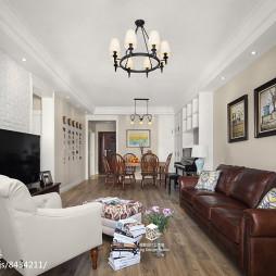 精简美式三居客厅设计图