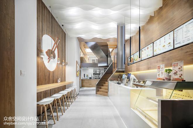 「味兮良食」餐厅设计图