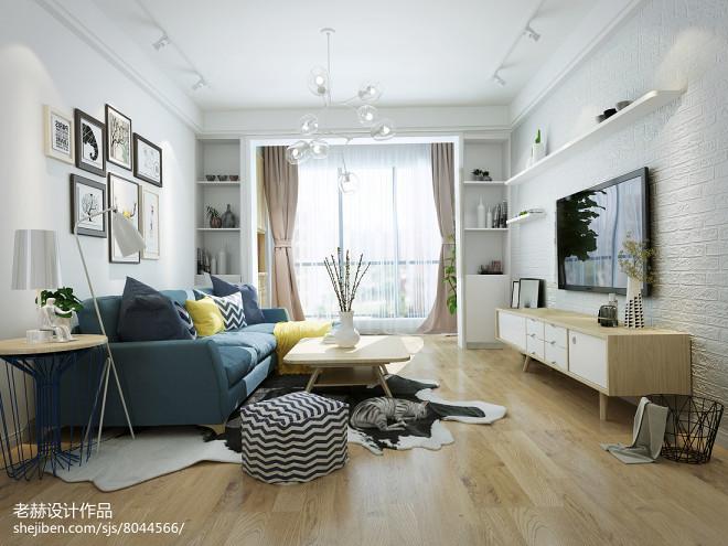 万国城住宅北欧风格空间设计_3036