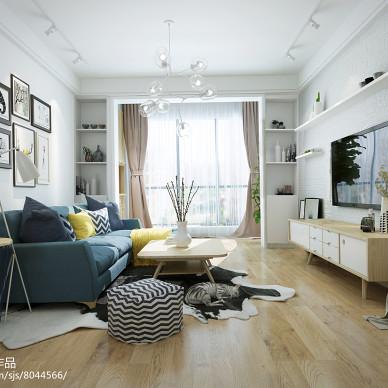 万国城住宅北欧风格空间设计_3036311