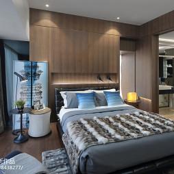 华联城市全景样板房卧室设计图