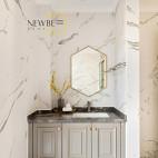 别墅卫浴洗手盆设计图片