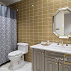 别墅卫浴设计效果图