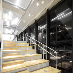 HUB桌游楼梯设计图