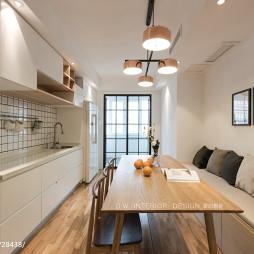 三居客厅餐厅设计图