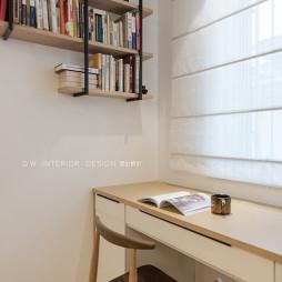 三居客厅书架设计图
