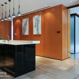 145㎡公寓吧台设计图片