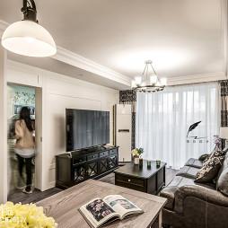 两居客厅整体设计图