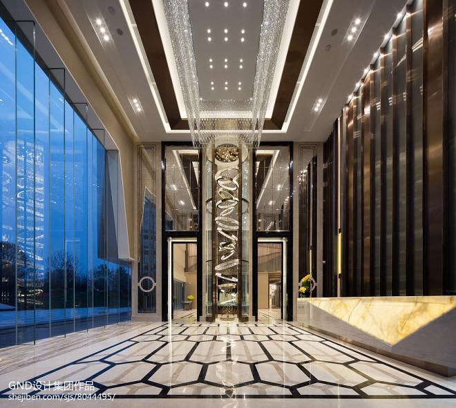 卓越 • 星源售楼处大堂设计图片