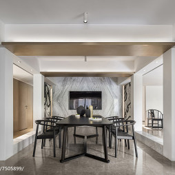 混搭风格会所客厅设计图片