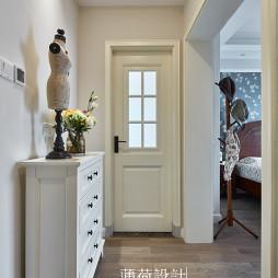 典雅美式玄关设计