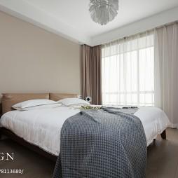 140㎡现代家装卧室设计图