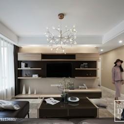 140㎡现代家装客厅设计图