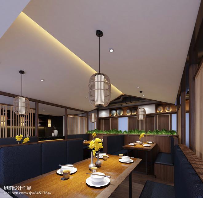 中式茶餐厅设计_3054537
